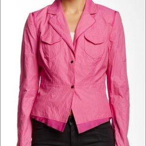 NWOT Elie Tahari Pink Jacket